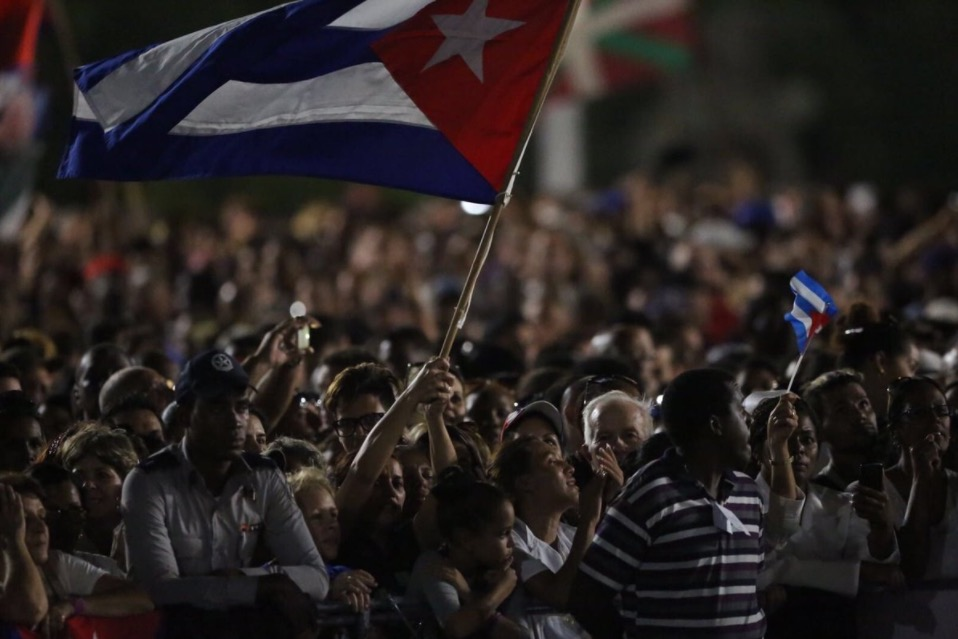 Despedida Fidel Castro Cuba