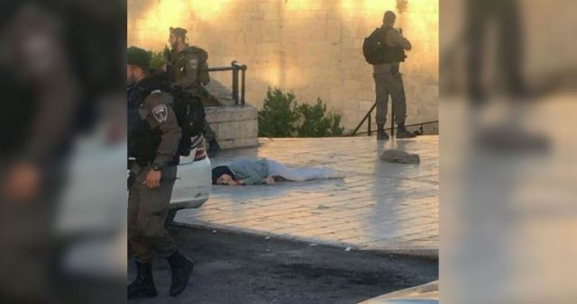 Resultado de imagen de fotos de soldados de israel matando a una niña de 16 años.