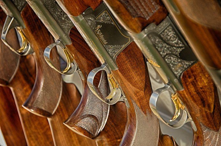 pistolas de fogueo