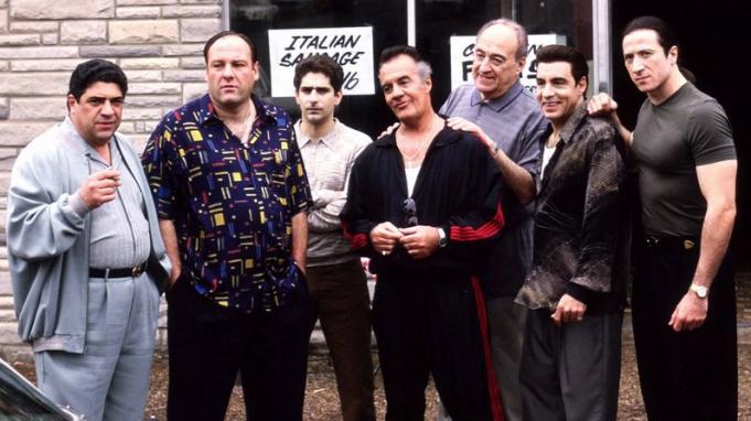 Los Soprano, serie sobre la mafia emitida por HBO