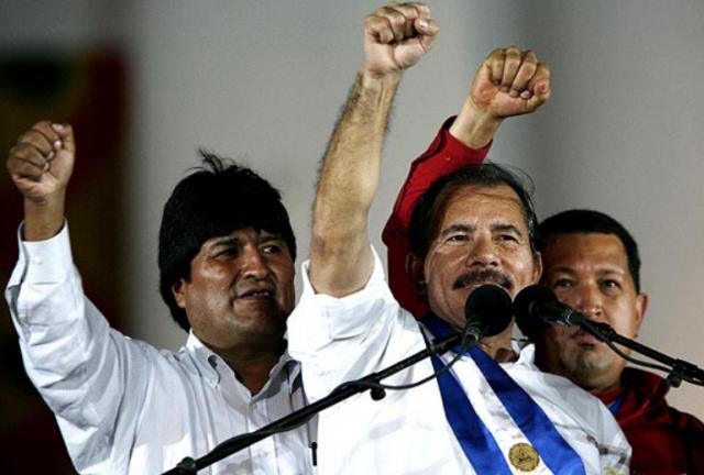 Evo, Ortega y Chavez
