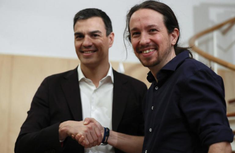 PSOE y Podemos acuerdan despenalizar las injurias a la Corona y las ofensas religiosas