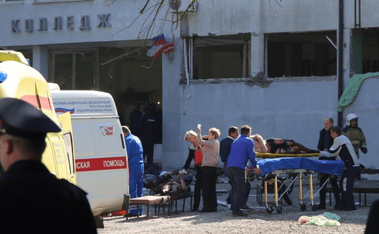 Rusia: Masacre en una escuela de Crimea
