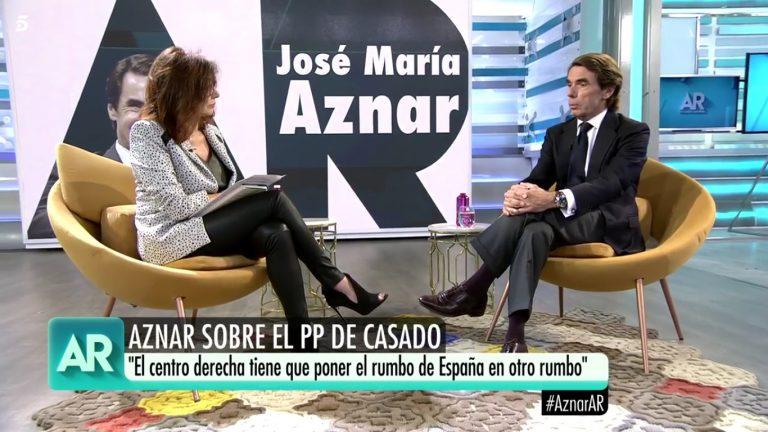 """Aznar: """"La elección de Pablo Casado es un gran acierto"""""""