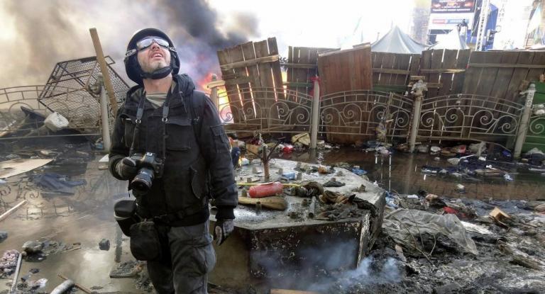 En cuatro años mueren más de 20 periodistas en Ucrania