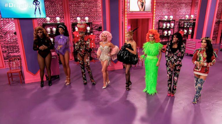 """Participantes del talent show estadounidense RuPaul's Drag Race""."
