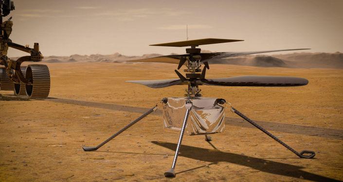 Foto: Ingenio de helicópteros de Marte Completa con éxito el noveno vuelo más desafiante - NASA
